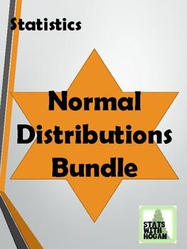 Statistics- Unit 5 Bundled: Normal Distributions (Growing Bundle)
