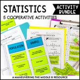 Statistics Unit Activity Bundle