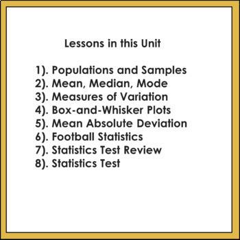 Statistics Unit Common Core Standards 7 SP.1, SP.2, SP. 3, SP.4