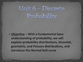 Statistics Unit Plan 5 - Discrete Probability Distributions