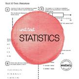 STATISTICS Unit Test CC Algebra 1