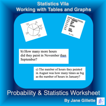 Statistics VIIa - Working with Tables and Graphs