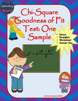Statistics Worksheet: Chi-Square Goodness of Fit Test: One Sample