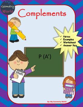 Statistics Worksheet: Complements