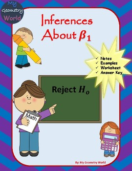 Statistics Worksheet: Inferences About the Slope