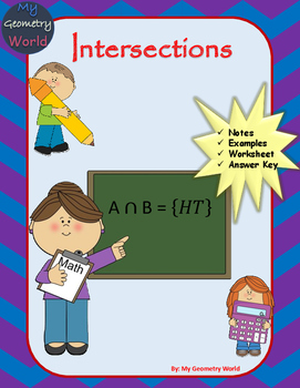 Statistics Worksheet: Intersections