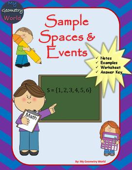 Statistics Worksheet: Sample Spaces & Events