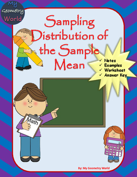 Statistics Worksheet: Sampling Distribution of the Sample Mean