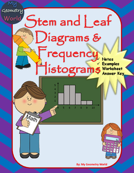 Statistics Worksheet: Stem and Leaf Diagrams & Frequency H