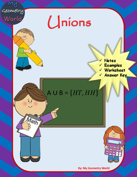 Statistics Worksheet: Unions