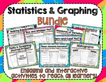 Statistics and Graphing Bundle