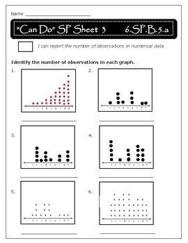 Statistics and Probability: 6.SP.B.4-5