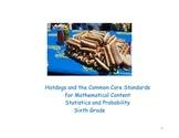 Statistics and Probability Common Core Standards for Sixth Grade