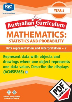 Statistics and Probability: Data representation and interpretation 2 – Year 1