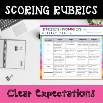 6th Grade Statistics and Probability Choice Board – Enrichment Math Menu