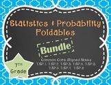 Statistics and Probability Foldable Bundle