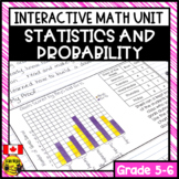 Statistics and Probability Interactive Notebook Grades 5-6