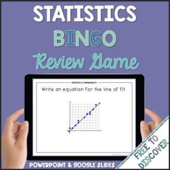 Statistics and Probability Review Game (8th Grade)