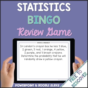 Statistics and Probability Review Game (7th Grade)
