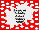 Statistics and Vocabulary Foldable