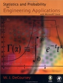 Statistics and probability for engineering applications with Microsoft Excel