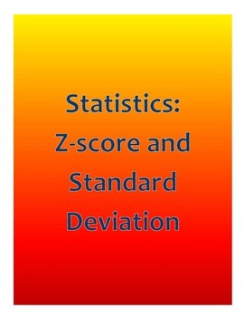 Statistics: z-score & standard deviation
