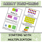 Starting with multiplication- Arrays and area models Task-