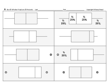 Stats & Data 08: Determining Box-and-Whisker Fractions & Percents