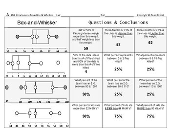 Stats & Data 09: Drawing Statistical Conclusions from Box-and-Whisker Plots