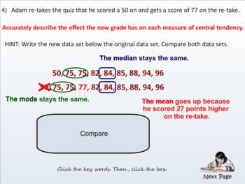 Stats - Lesson 1 Measures of Central Tendency