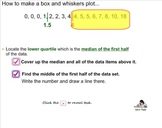 Stats - Lesson 2 Constructing Box and Whisker Plots