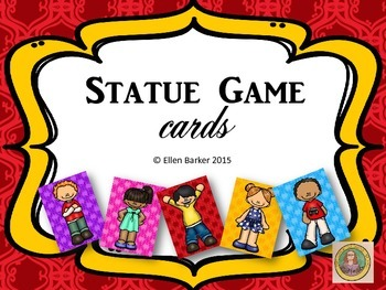 Statue Game Cards