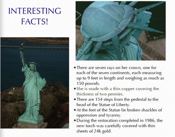 Statue Of Liberty Slide Presentation PDF Only