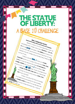 Statue of Liberty : A High Interest Reading Passage for Reading Whole Numbers