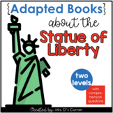 Statue of Liberty Adapted Books [ Level 1 and Level 2 ] |