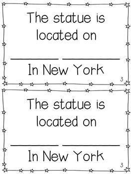 Statue of Liberty Mini-Books
