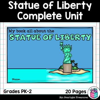 Statue of Liberty Complete Unit for Early Learners - World Landmarks