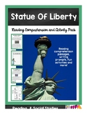 Statue of Liberty Nonfiction Reading Comprehension and Questions