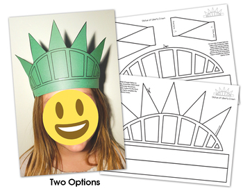 Statue of Liberty Craft by WOWorksheets