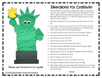 Statue of Liberty Craft