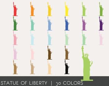 Statue of Liberty Digital Clipart, Statue of Liberty Graphics