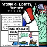 Statue of Liberty Flashcards FREEBIE