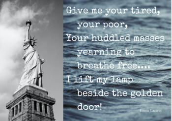 Statue of Liberty: Give Me Your Tired - poster