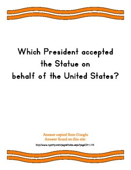 Statue of Liberty ~ Google It! Question & Answer Reader ~ over 80 Q & A's
