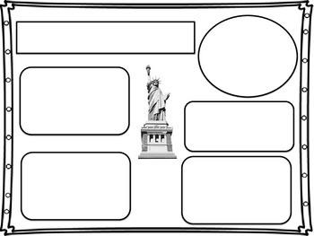 Statue of Liberty Graphic Organizer