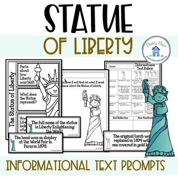 Statue of Liberty Writing