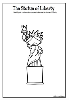 Statue of Liberty Informational Writing