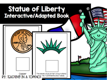 Statue of Liberty Interactive/Adapted Book