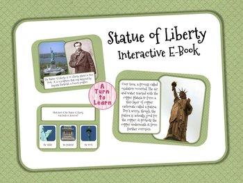 Statue of Liberty Interactive E-Book for Smartboard