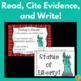 Statue of Liberty - Read, Find Text Evidence, and Write!